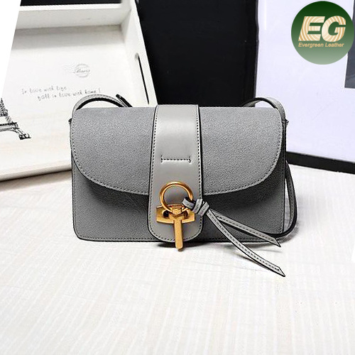Hot Sale Shoulder Bags Genuine Leather Handbag for Ladies Emg4861
