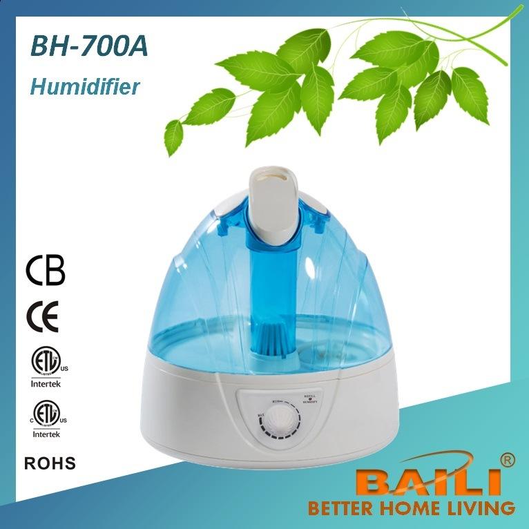 Ultrasonic Humidifier with Mist Adjustment
