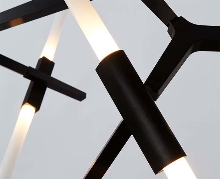 Wonderful Living Room Modern LED Haning Pendant Lamp Lights Lighting in Black, G9 3W, 3000k