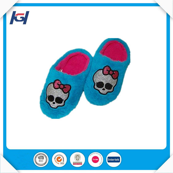 New Models Fluffy Warm Soft Daily Use Boys Slippers