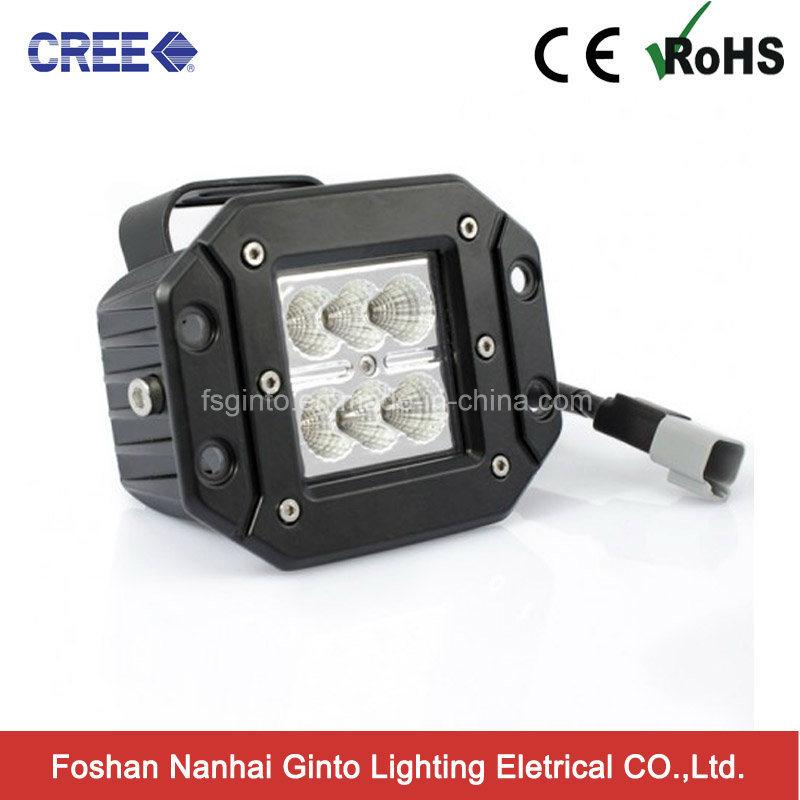 Flush Mount CREE 24W LED Work Light (GT1022A-24W)