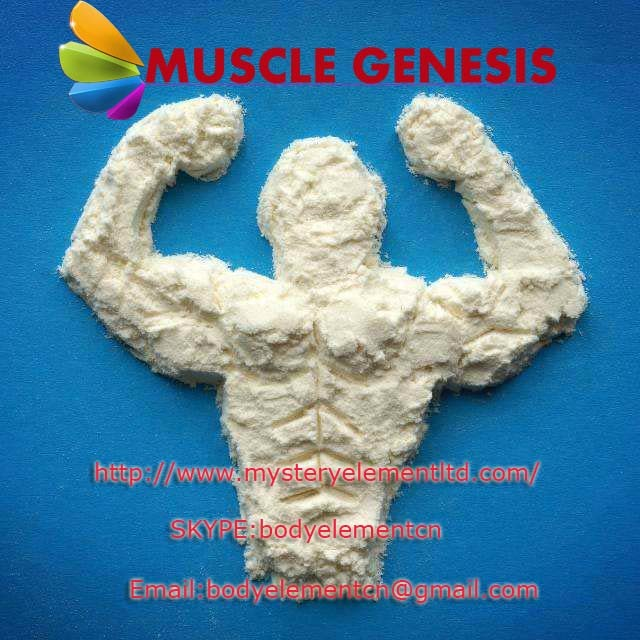 Pharmaceutical Grade Anaboil Steroid Methasteron Superdrol Powder for Muscle Building