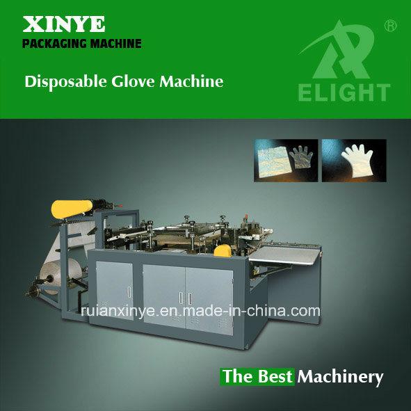 PE Disposable Hand Glove Making Machine