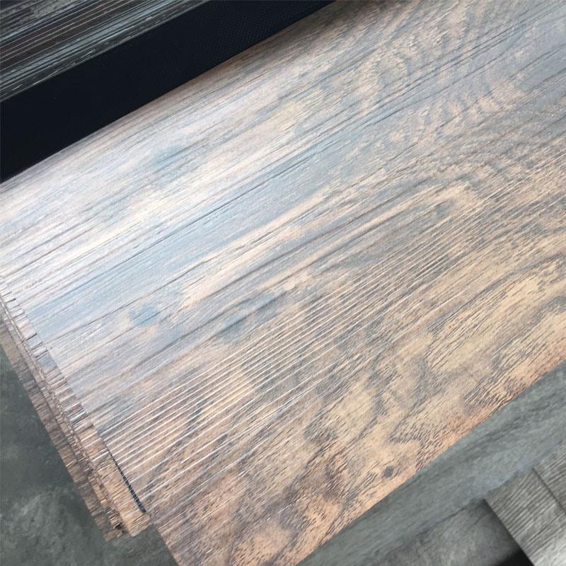 """Wood Grain PVC Vinyl Flooring Planks / Tiles (4.2mm, 7""""X48"""")"""