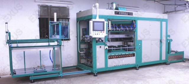 High Speed Full Automatic Roll Thermoforming Vacuum Forming Machine