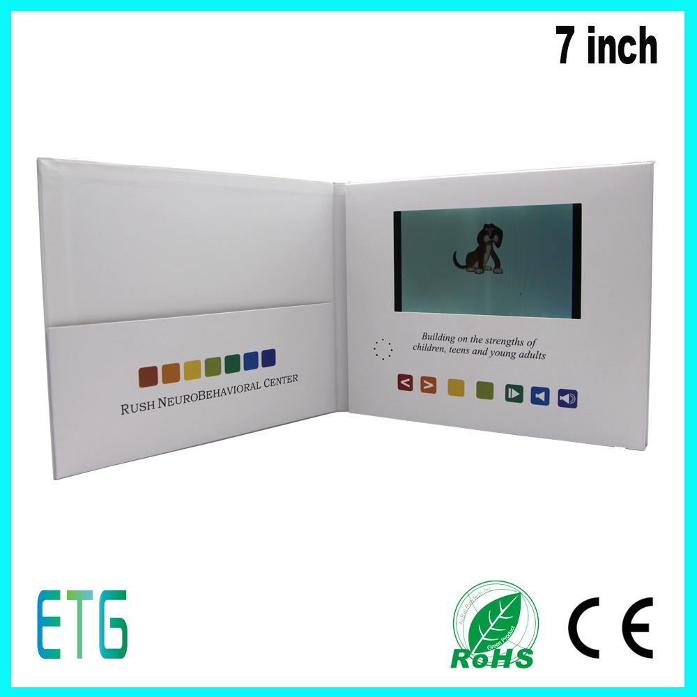 Hot Sale 7 Inch HD/IPS Video Brochure