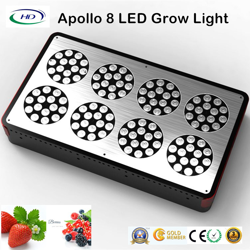 240W Colorful Outlook Apollo 8 LED Grow Light for Flowering