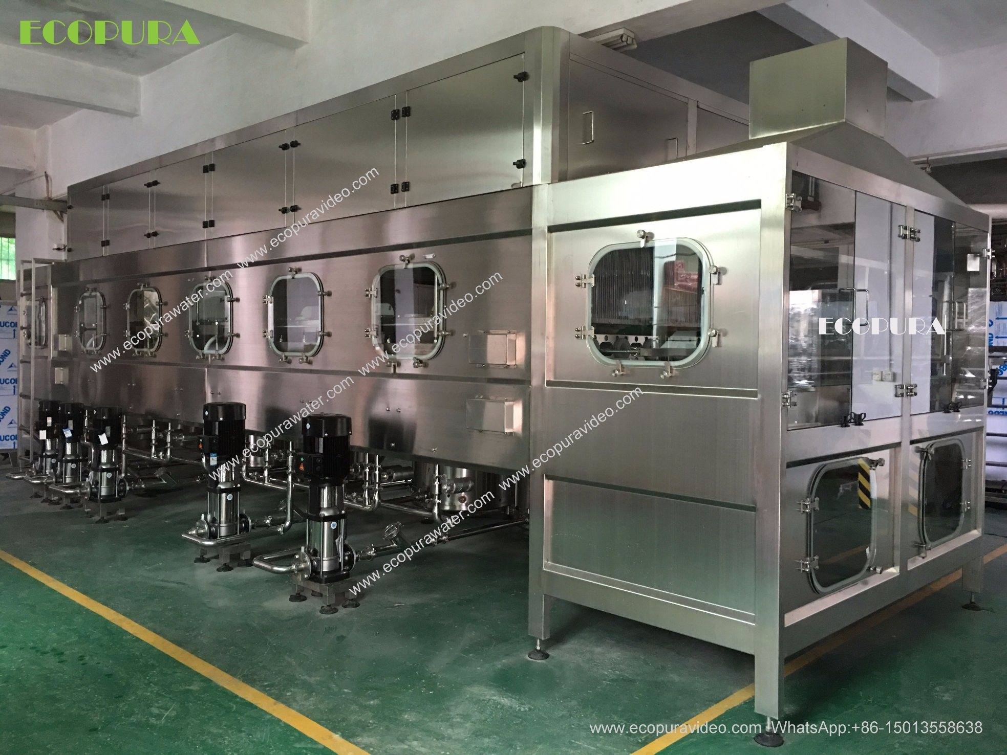 5gallon Barrel Water Bottling Machine (3-in-1 Washing Filling Capping Machine)