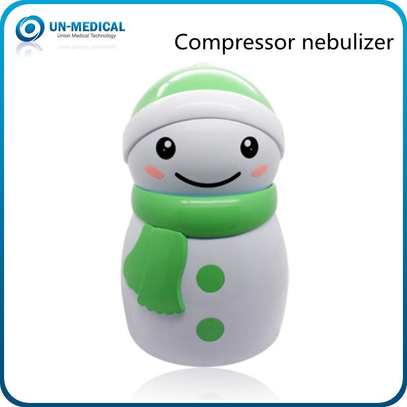 Cute Snowman Design Compressor Nebulizer for Chlidren