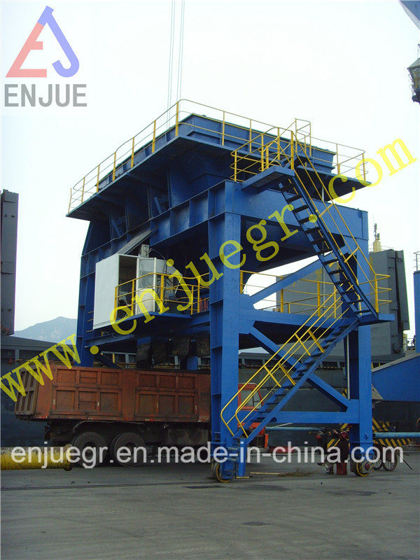 Rail Type Movable Dust-Proof Hopper with Tire for Discharging Clinker Dedusting Hopper