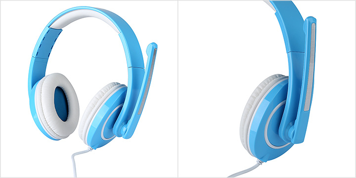 Blue MP3 Headset
