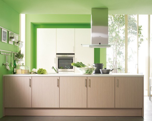 China Melamine Kitchen Cabinet China Kitchen Cabinet Modern Kitchen