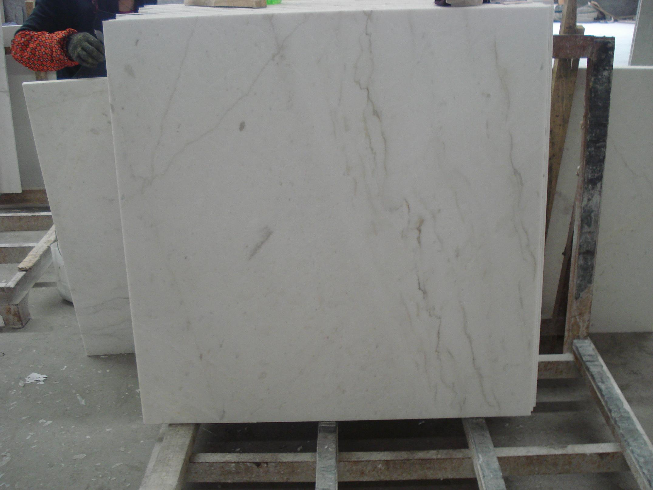 M rmol blanco griego de volakas azulejo de m rmol blanco for Densidad de marmol
