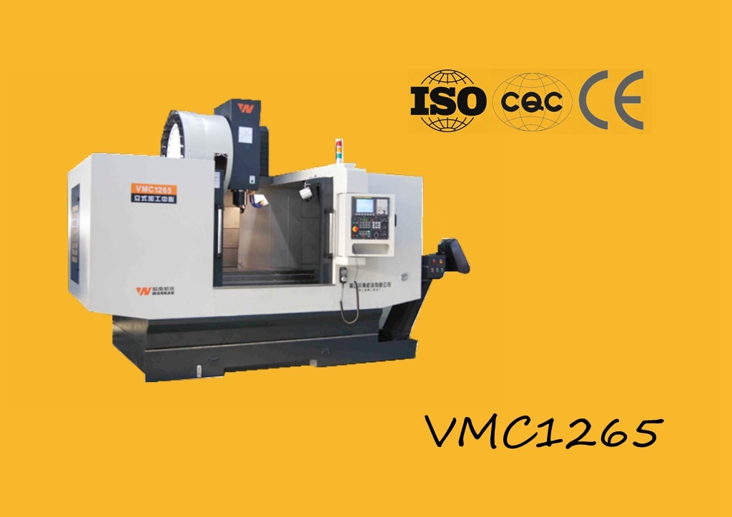 Vmc1265 Vertical Machining Center