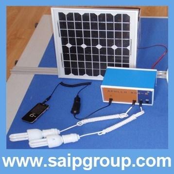 10w solar compact power system solar power generator sp - Mini generador electrico ...
