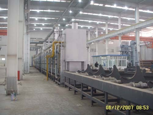 Roller-Hearth Hardening and Tempering Furnace for Gas Cylinder