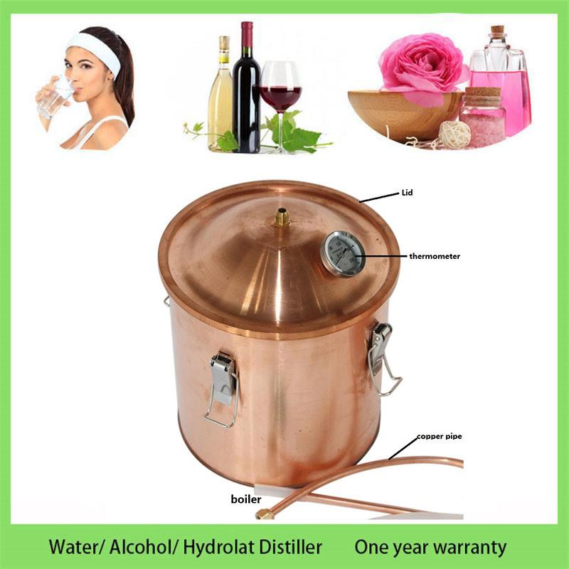 Kingsunshine 30liter 8gallon Copper Distillation Equipment Household Water Alcohol Hydrosol Distiller