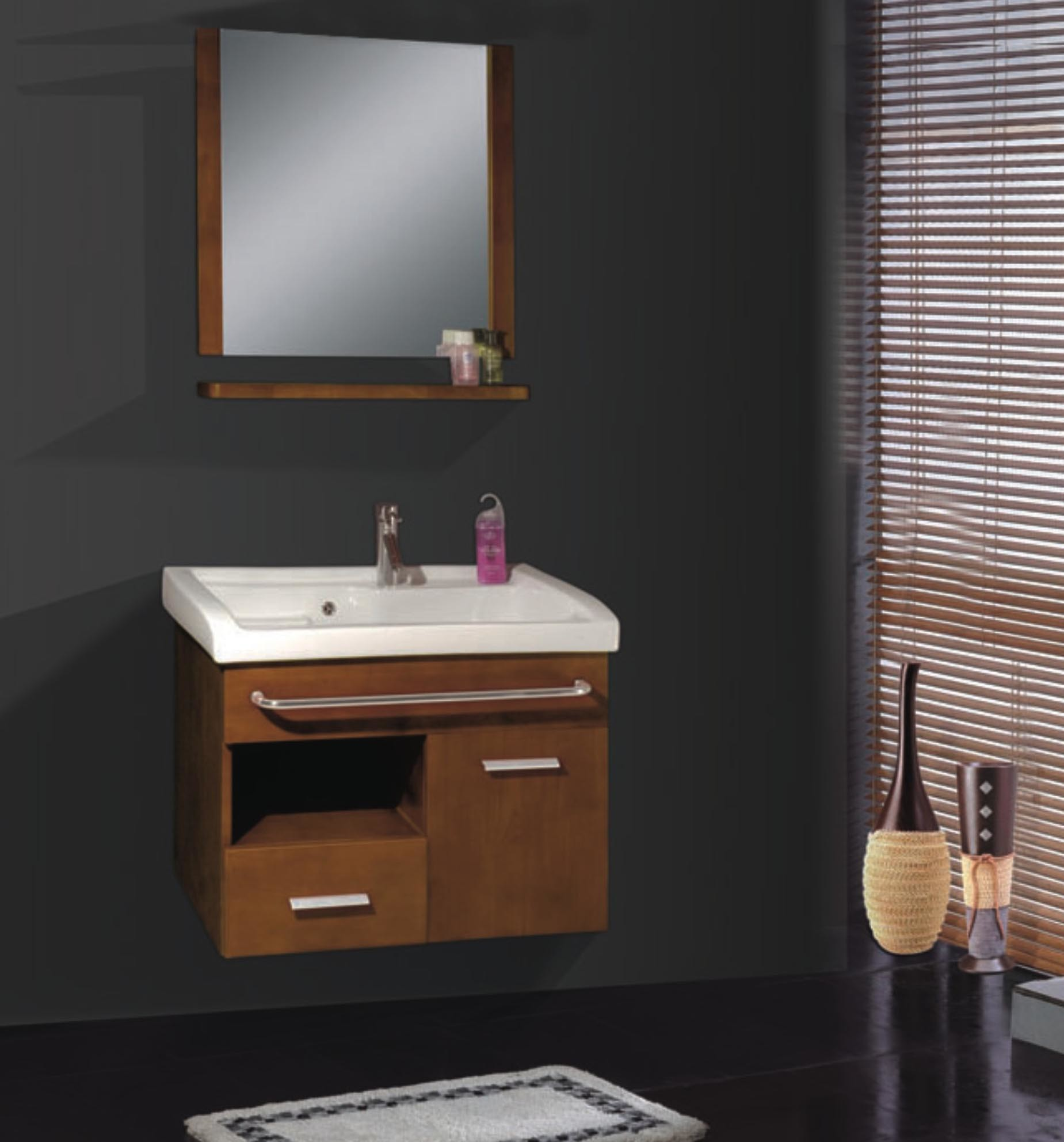 china solid wood bathroom cabinet se5618 china