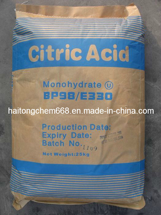 Citric Acid Monohydrate (BP98 / E330)