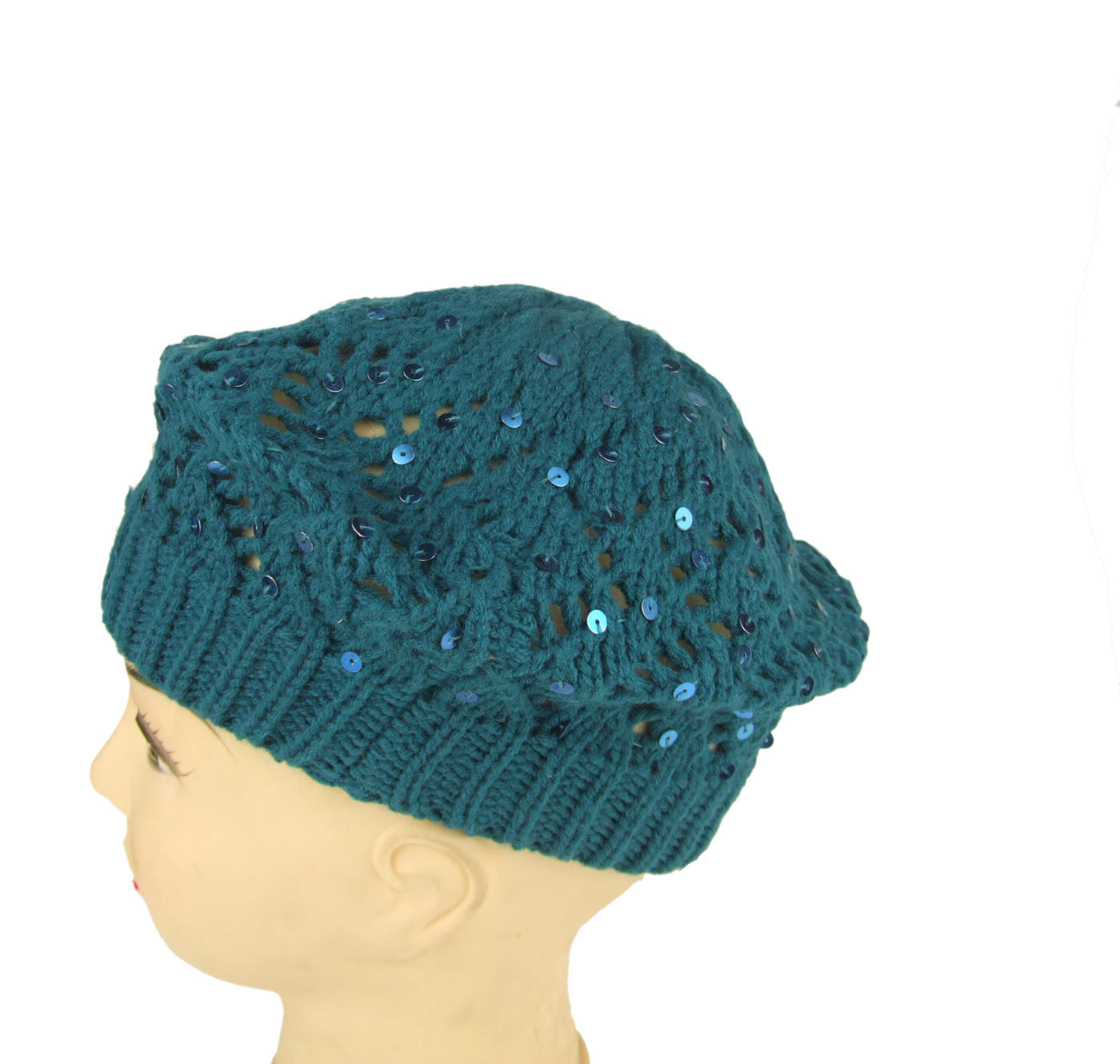 China Ladies Knitted Beret Crochet Beret - China knitted ...