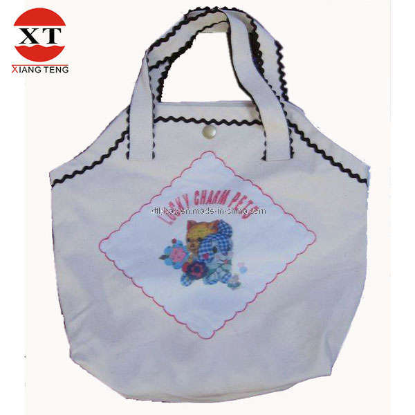 Cotton Canvas Shopping Promotional Tote Bag (FLYDL1001)