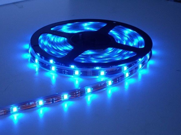 SMD5050 Bright Colourful LED Flexible Strip Light Lamps for Decoration