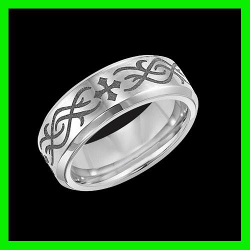 Spikes Titanium Ring Price