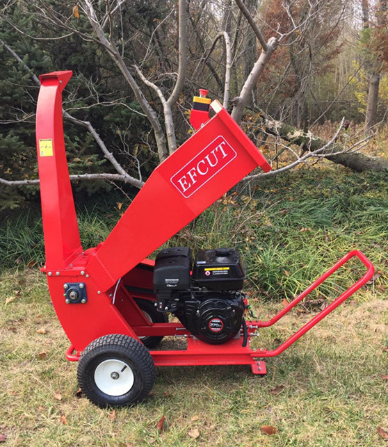 High Quality 9HP Garden Tree Chipper Shredder/Wood Crusher/Wood Cutter
