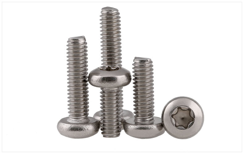 Stainless Steel Security Screws Ss304 18-8
