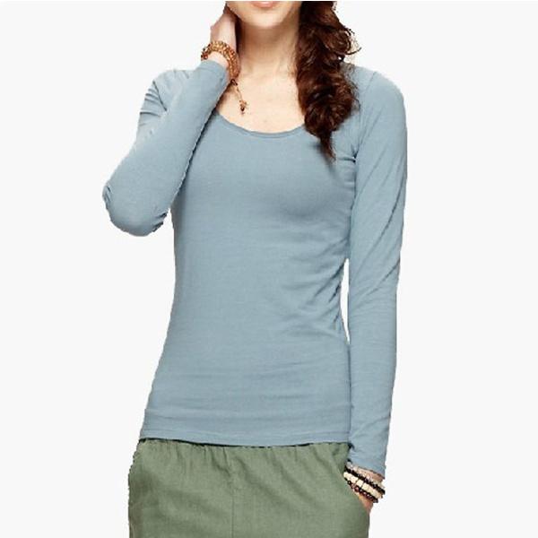 Top Quality Gray Autumn Blank Cotton Women Clothes