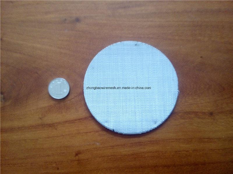 100 Mesh, 0.10 mm Wire, SS304 Filter Disc Screen, Extruder Screen, Filter Pack, Oil Filter