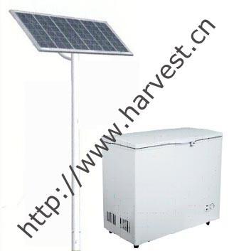 100% Solar Power Freezer