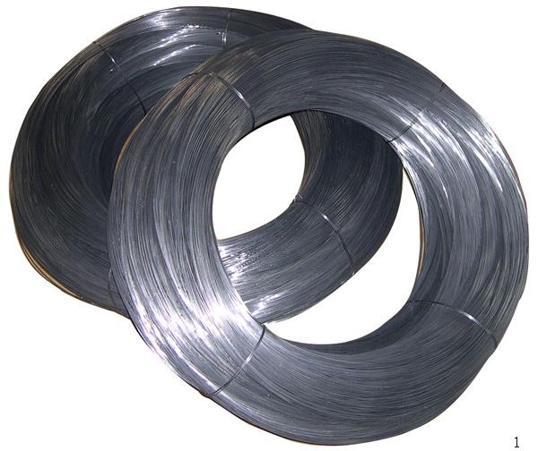 Non galvanized steel wire