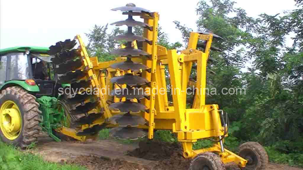 Wing-Folded Heavy-Duty Disc Harrow (1BZDZ-4.4)