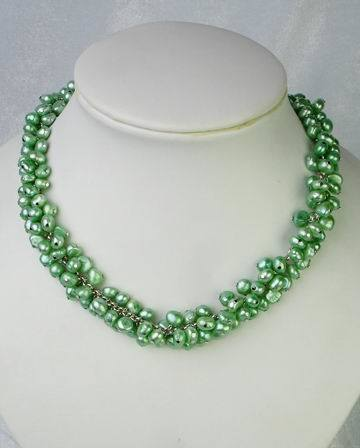 china green pearl necklace china pearl necklaces pearls