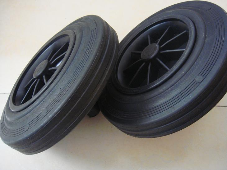 Solid Rubber Wheel (Dustbin Wheel)