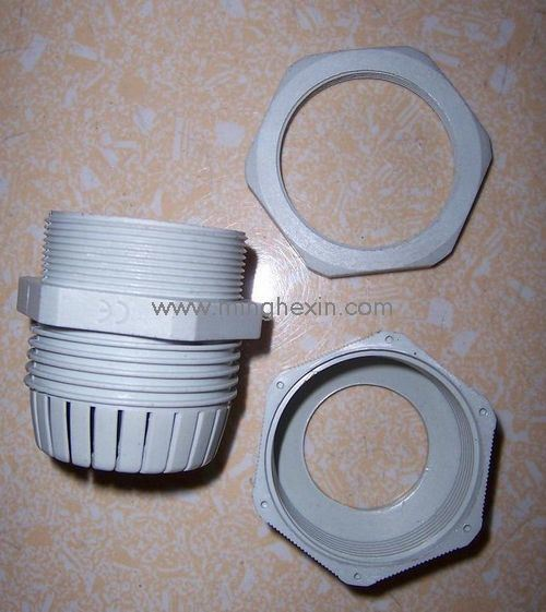White Plastic Molding Part with ISO SGS