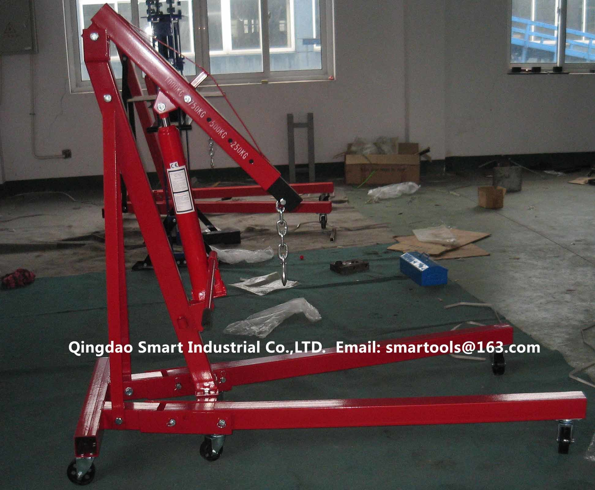 CE Approved 1t Foldable Shop Crane