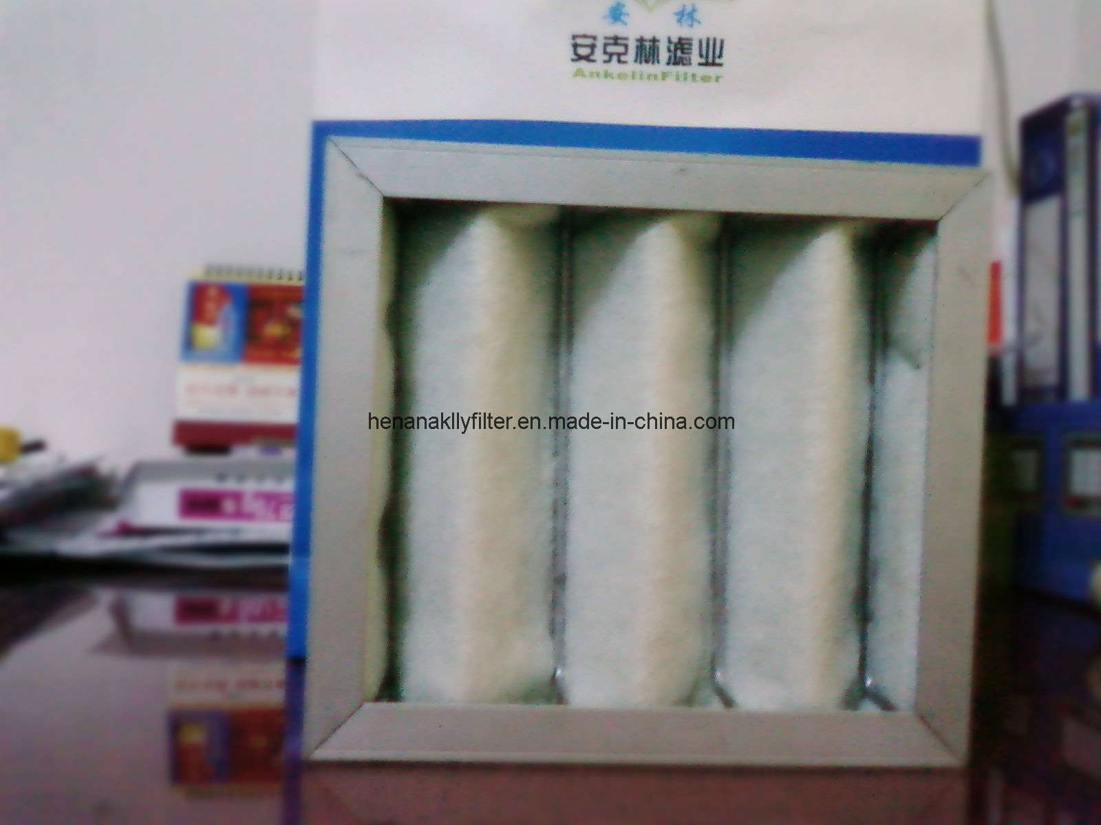 China Washable Filtering Material of Pre Filter Air Filter Aluminum  #244481