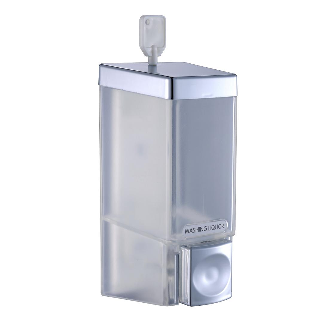 FLG One Chamber Shower Soap Shampoo Dispenser Chrome Wall Mount