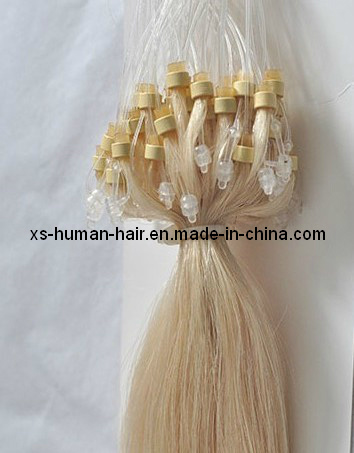 Micro Loop Ring Human Keratin Hair Extensions