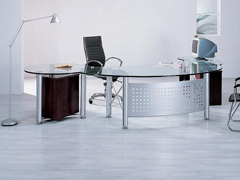 China Modern Office Desk Glass Office Desk China Office