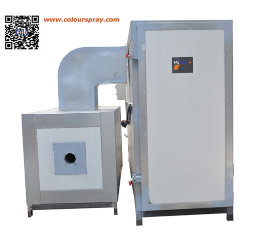 China powder coating baking curing oven horno de pintura for Paint curing oven