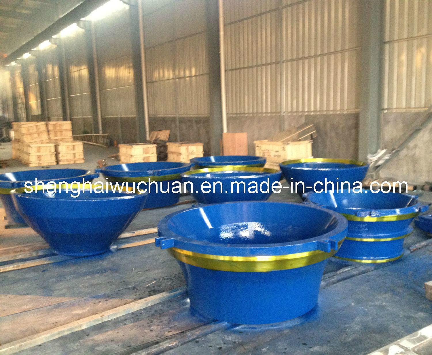 Cone Wear Parts for Svedala Crusher