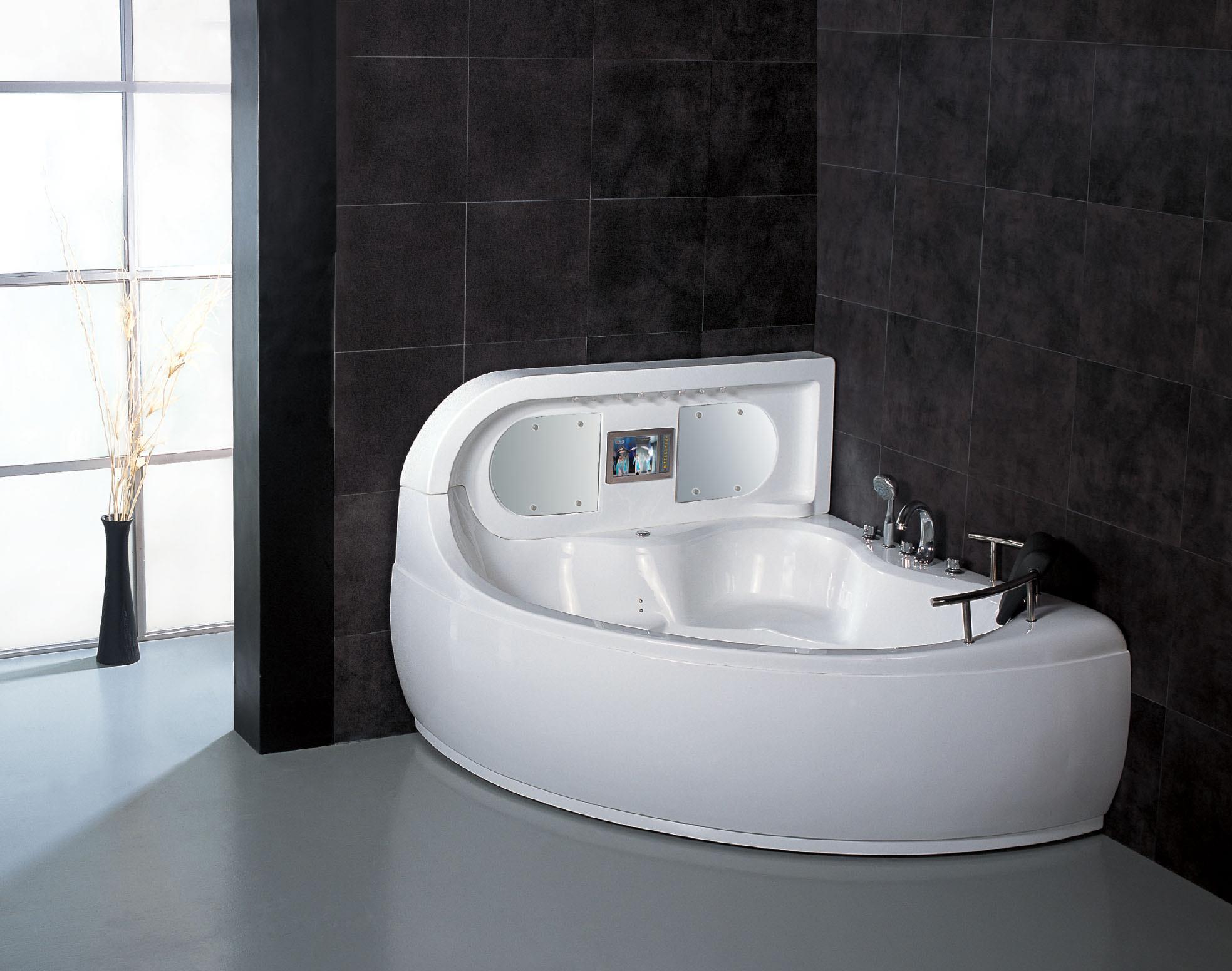 China whirlpool massage bathtubs g650 china jacuzzi for Bathroom jacuzzi tubs