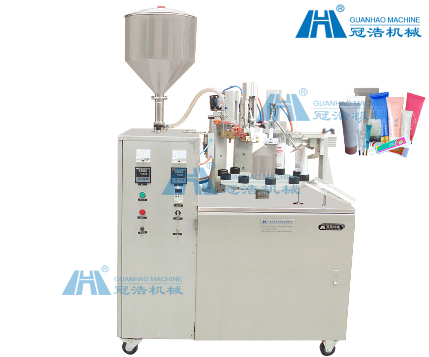 Paste Filling Sealing Machine (GH-FW50)