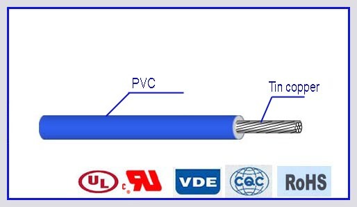 Awm1015 PVC Insulated Electric Cable Wire