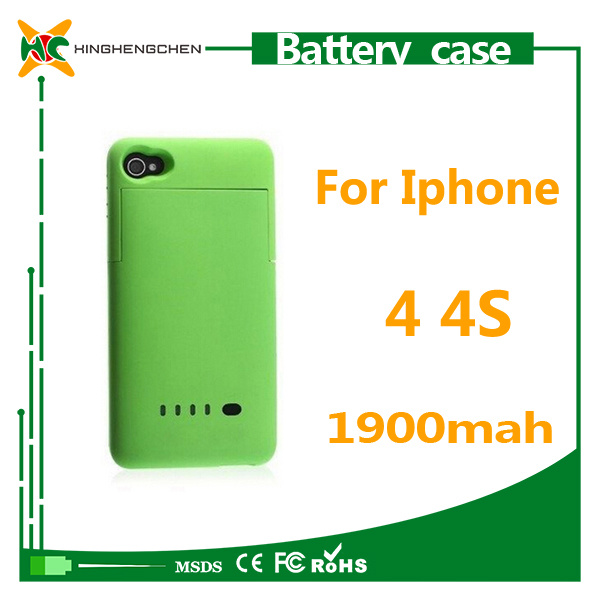 2016 Hot Phone Battery Chager Case for iPhone 4/4s
