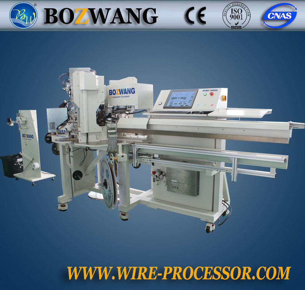 Full Automatic Linked Terminal Crimping Machine for PV Wire