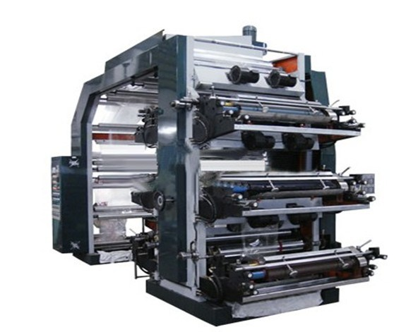 High Speed 6 Colors Flexo Printing Machine (YTB-61200)